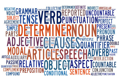 Grammar words to help improve grammar skills
